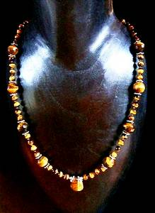 COLLIER OEIL DE TIGRE 2 ( 50gr/50cm)