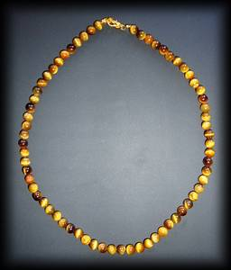 COLLIER OEIL DE TIGRE ( 45gr/48cm)