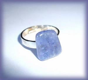 BAGUE TANZANITE (9gr/r�glable)