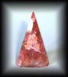 PIERRE ROULEE RHODOCROSITE4 ( 130 gr/6.6 cm)