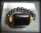 BLACK TOURMALINE RING(9gr/elastic)