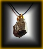DODECAEDRE MAGNETICPYRITE PENDANT(22gr/2cm)