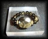 GOLD OBSIDIAN RING 2 (5gr/adjustable)