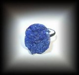 AZURITE RING ( 5gr/adjustable)