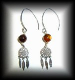 TIGER EYE EARRING ( 10 gr)