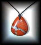 RED JASPER HEART PENDANT (25 gr/3.8 cm)