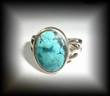 BAGUE TURQUOISE (6 gr/taille 52)